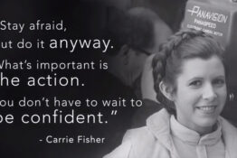 Carrie Fisher Star Wars Twitter Tribute