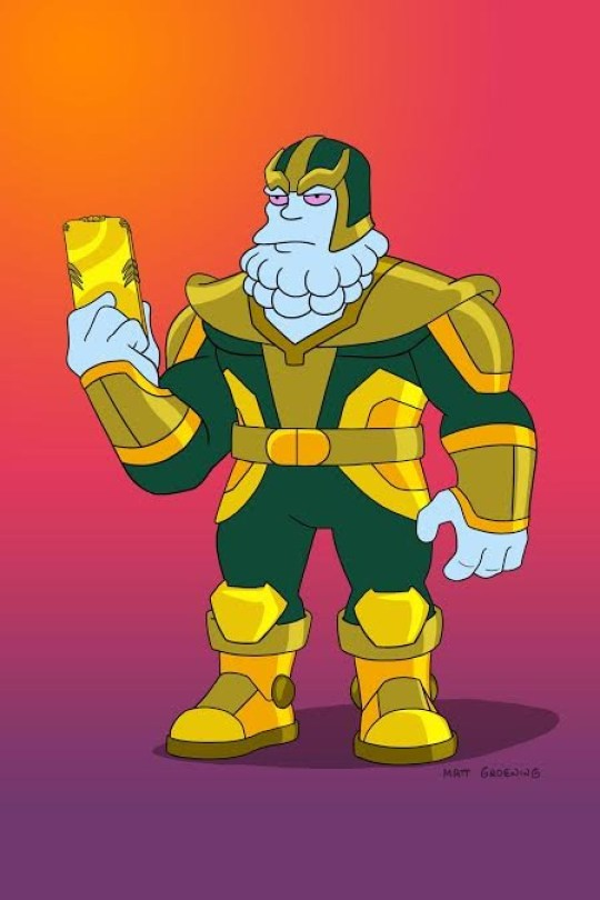 Chinnos The Simpsons Avengers