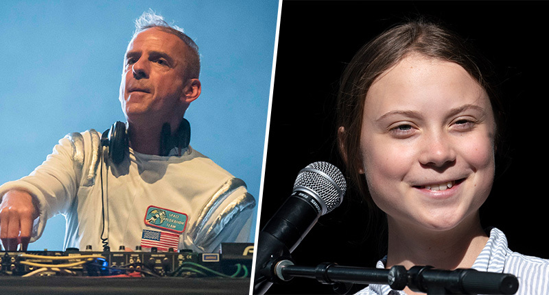 Fatboy Slim Mixes Greta Thunberg's UN Speech Into 'Right Here, Right Now'