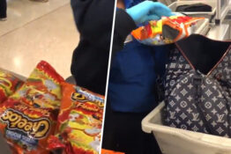 Flamin Hot Cheetos Airport Security Thumb