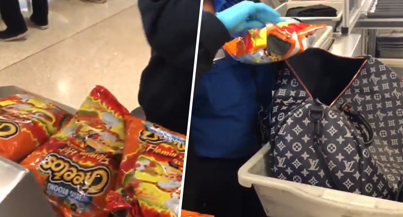 Woman Caught Carrying 20 Bags Of Flamin' Hot Cheetos From US To Korea