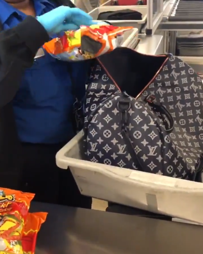 Flamin Hot Cheetos Airport Security