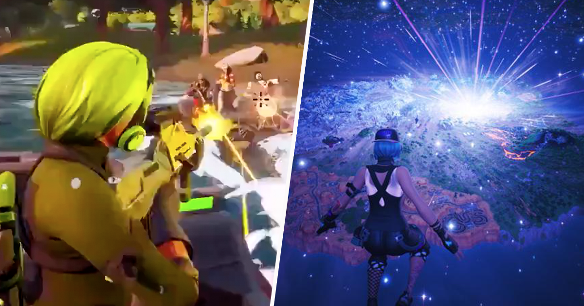 Fortnite Chapter 2 Trailer Leaks And Gives Fans Hope