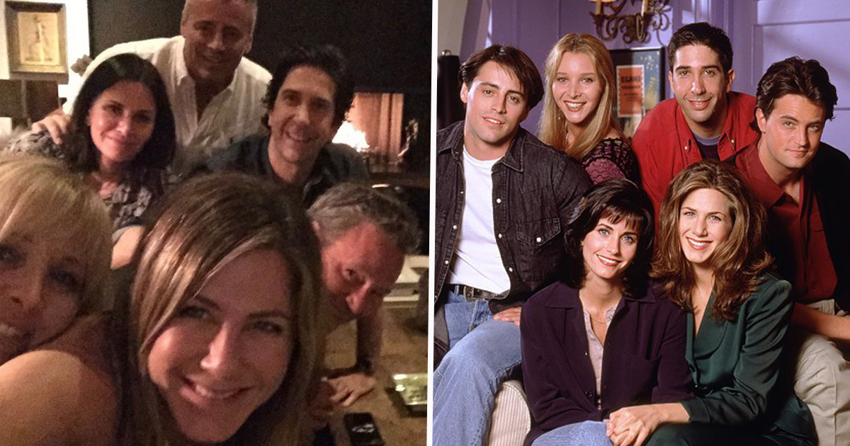 People Think They Can See Drugs In Friends Reunion Photo