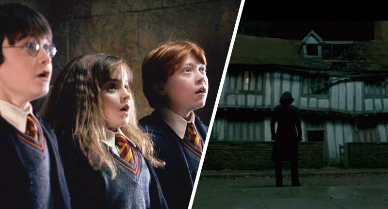 Haunted harry potter house 1