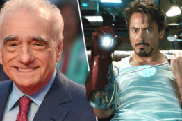 Martin Scorsese Iron Man Marvel