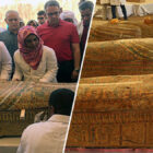 Perfectly Preserved Ancient Egyptian Coffins Opened After Unearthing Mummies