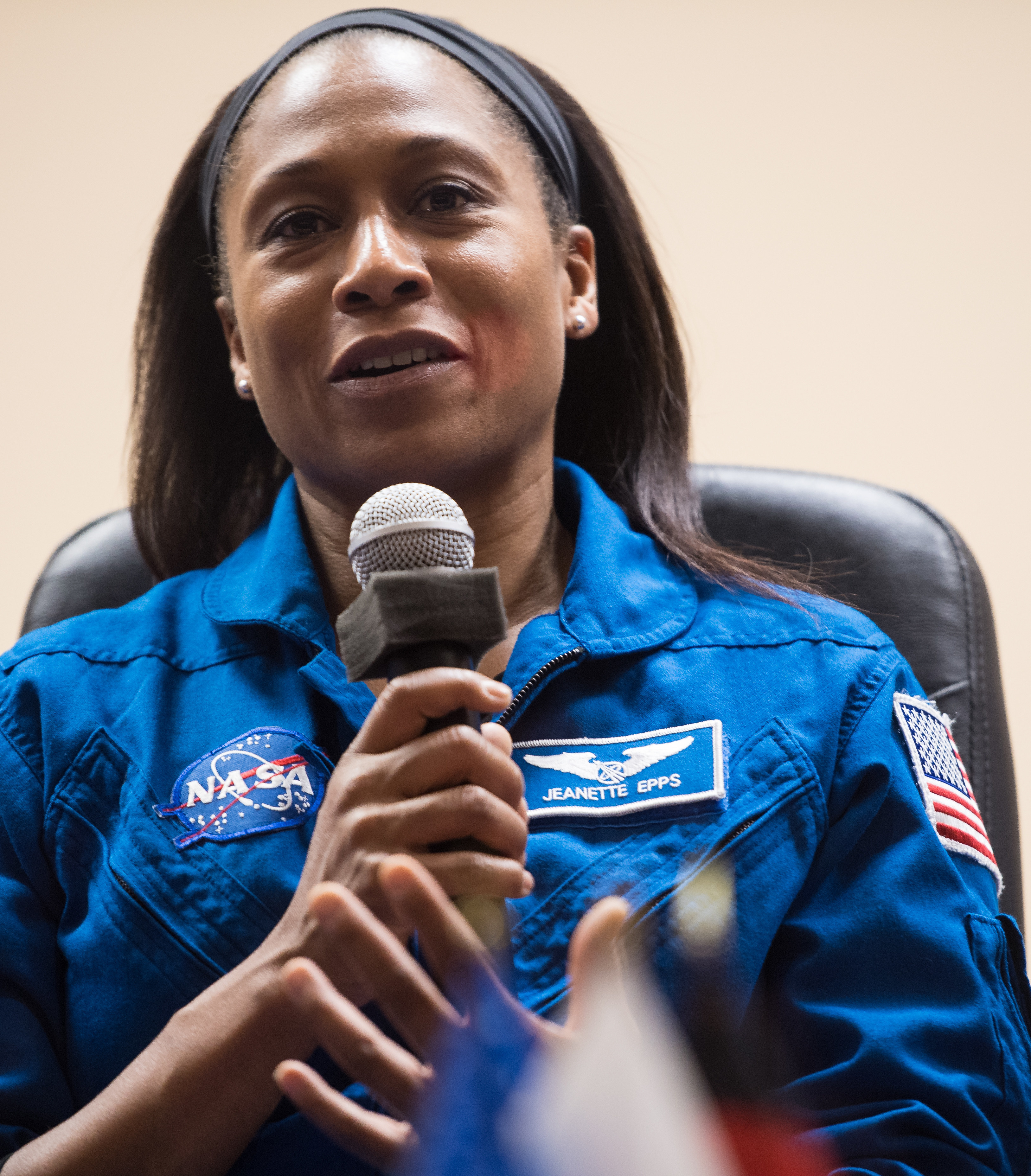 Expedition 54 backup crew member Jeanette Epps