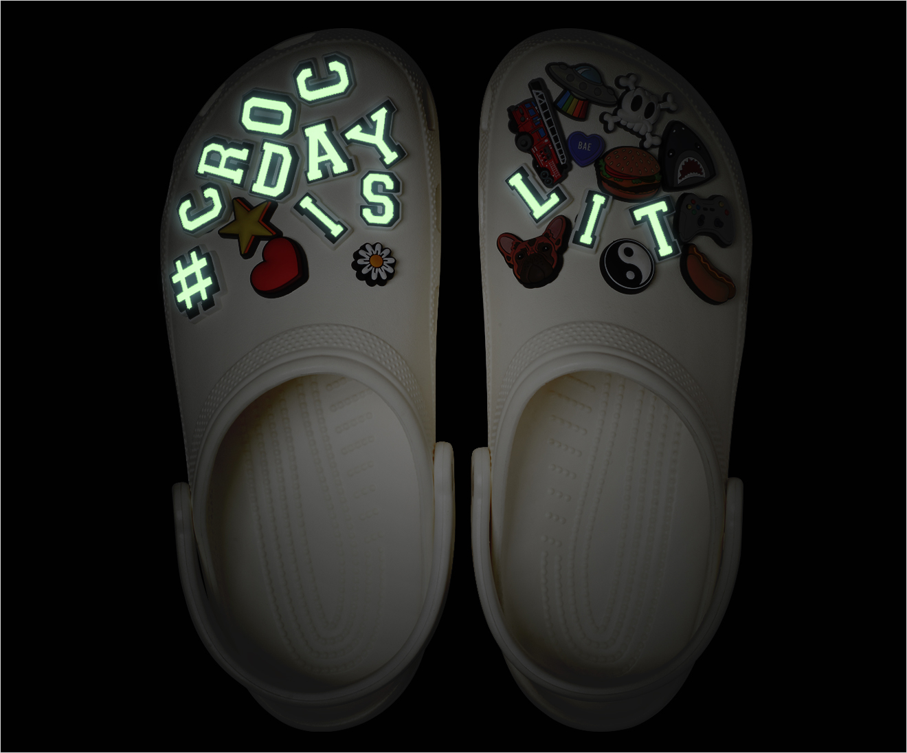 Crocs launch glow-in-the-dark shoes for Croc Day