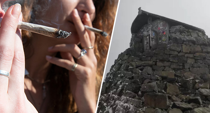 People Are Getting High On Top Of Britain's Tallest Mountain