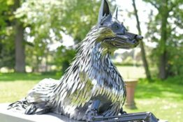 Police dog monument