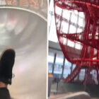 Airport In Singapore Has A Massive Slide That Goes Right To Your Boarding Gate
