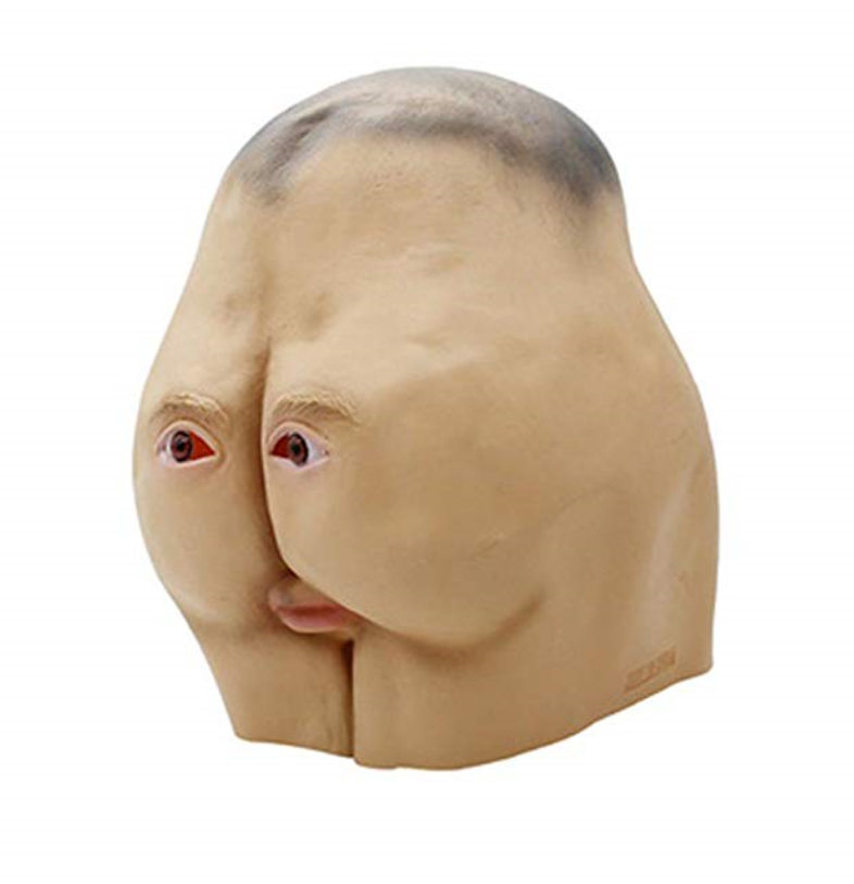Sloth Butt Mask 3