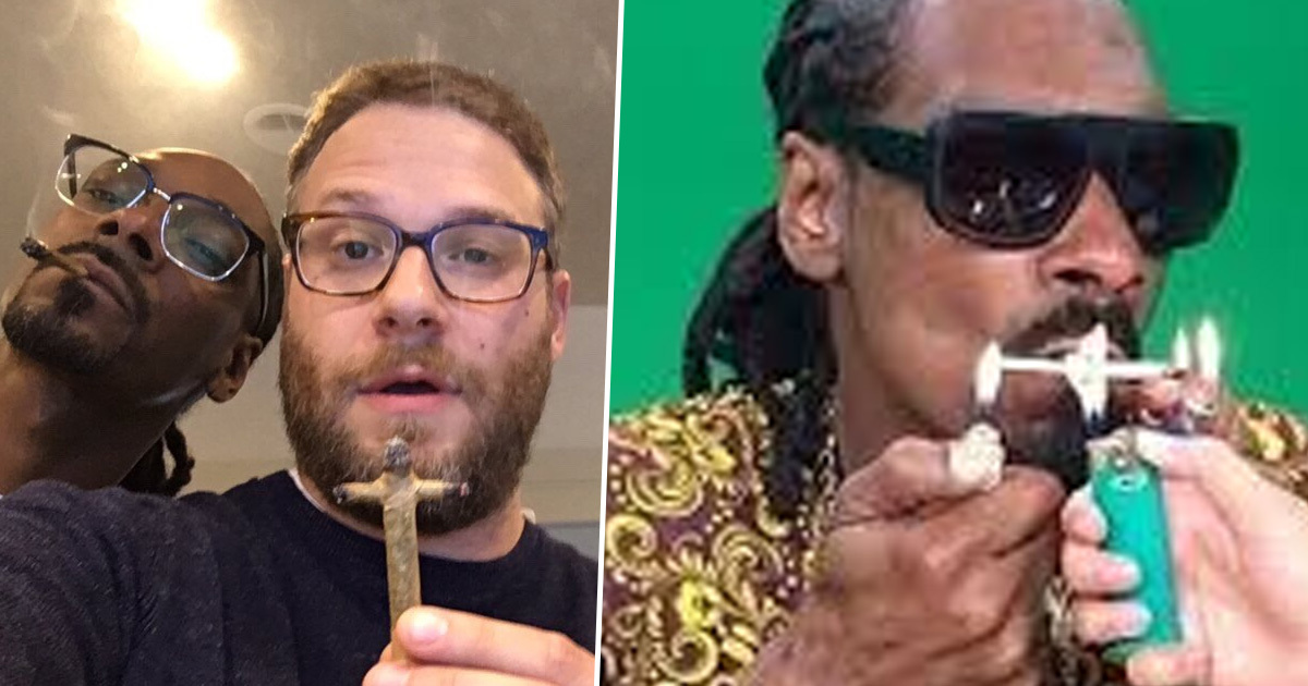 Snoop Dogg Says Seth Rogen Is The Best Joint Roller He's Met In His Life