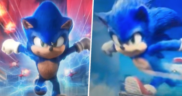 Leaked Sonic The Hedgehog Movie Design Shows Huge Improvement To The Original Unilad