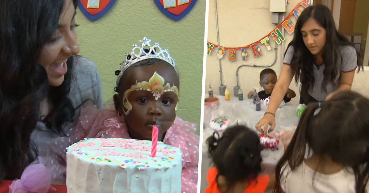 Teen Throws Birthday Parties For Homeless Children Who've Never Had One Before