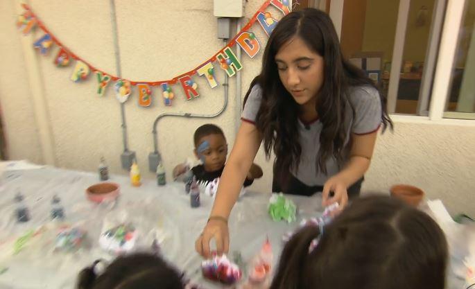 Teen throws parties for homeless children