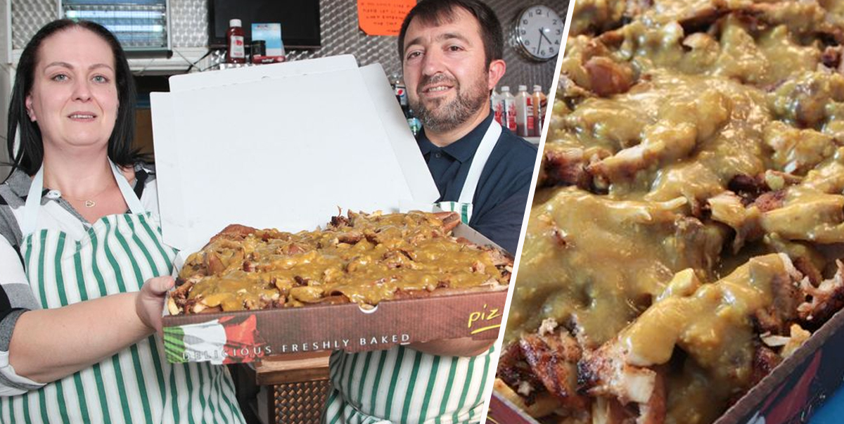 Takeaway Puts 'World's Biggest Kebab' On Menu