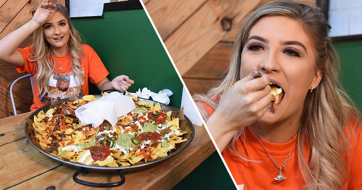 Diners Challenged To Take On World's Biggest Plate Of Nachos