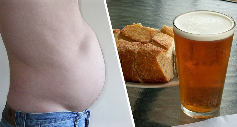 Man's Belly Gets Him Extremely Drunk As His Stomach Turns Carbs Into Beer