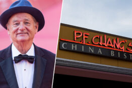 Bill Murray Works At An Airport P. F. Chang's Now