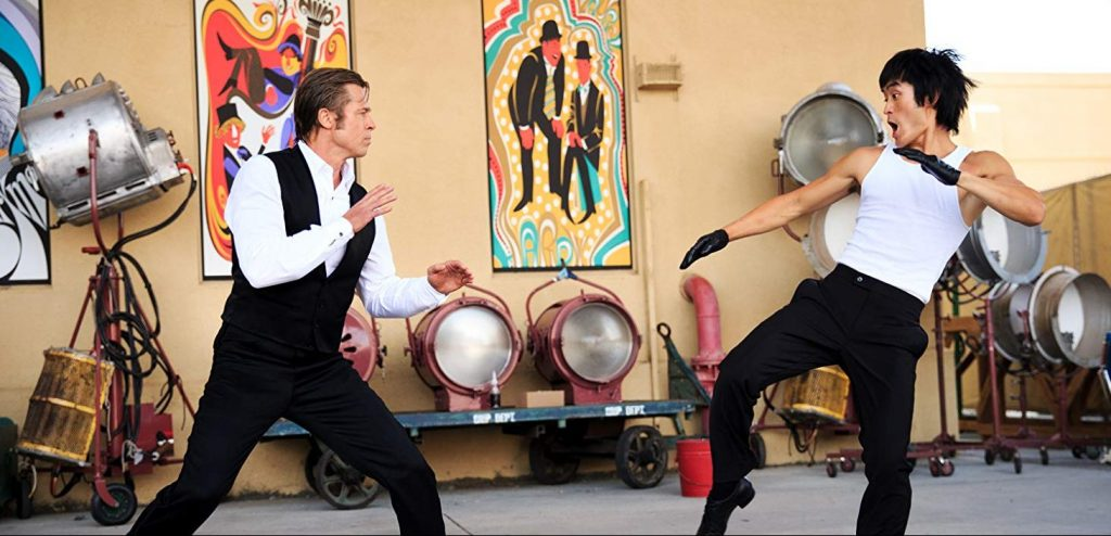 bruce lee scene once upon a time in hollywood