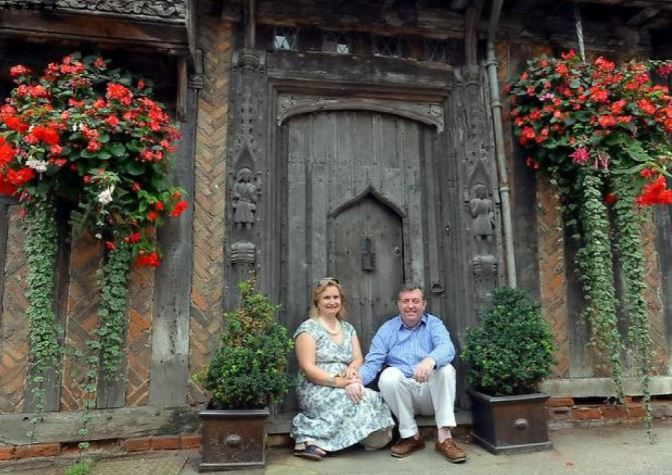 couple own harry potter cottage