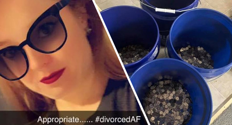 Woman whose husband cheated on her wears 'Divorced AF' t-shirt