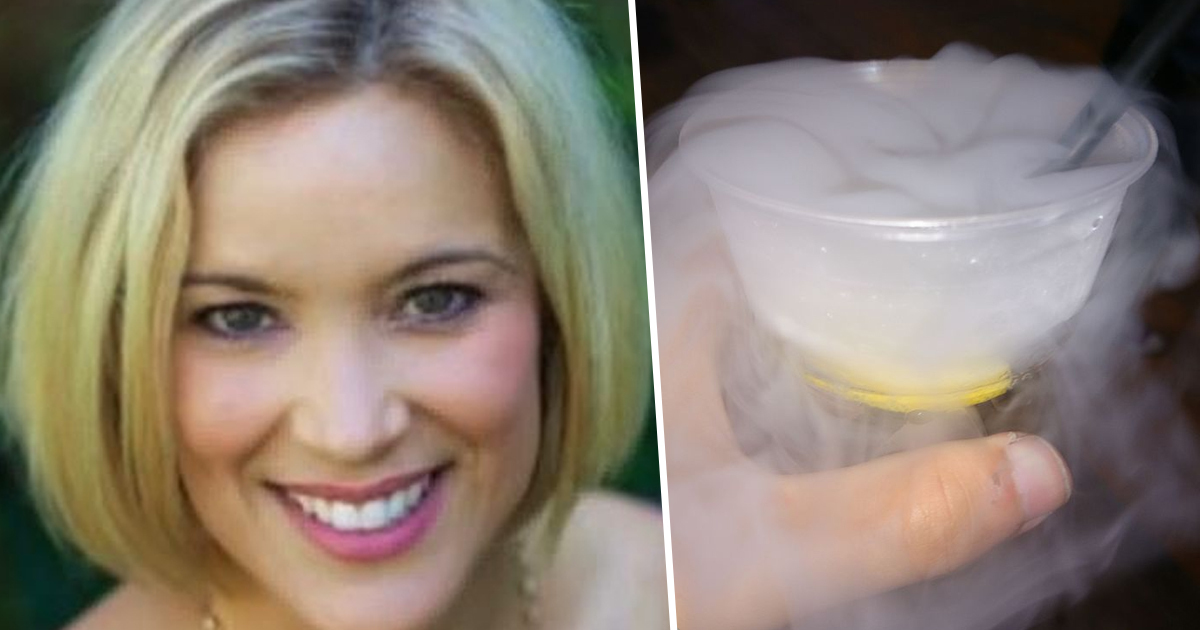 Woman feels chest explode after drinking liquid nitrogen
