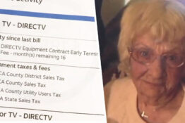 DirecTV Charge Woman Who Died At 102 An Early Termination Fee