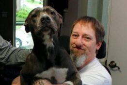 Man who almost died from dog lick won't give up pet