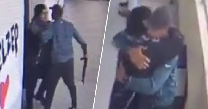 School Coach Disarms Student With Gun Before Hugging Him