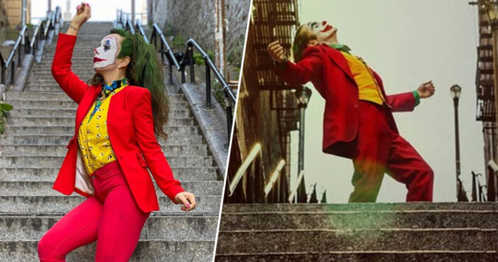 Joker Stairs In New York From Iconic Film Scene Become Tourist Attraction