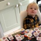 Dad Turns Back On Daughter For Ten Minutes, She Devours 18 Yoghurts