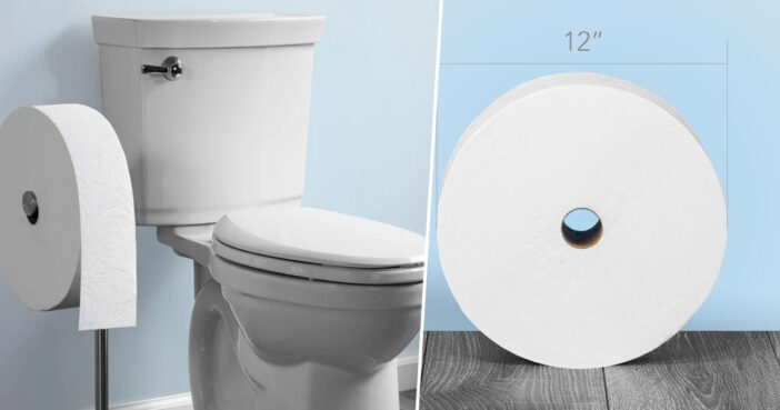 Gigantic Toilet Rolls That Last A Month Are Now A Thing You Can Buy
