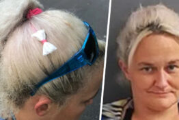 Woman Caught Moving Meth By Wearing Bags As Hair Bow
