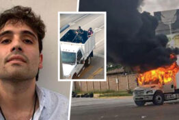El Chapo Son's Arrest Sees Streets Of Mexico Burn And Gunfights Erupt