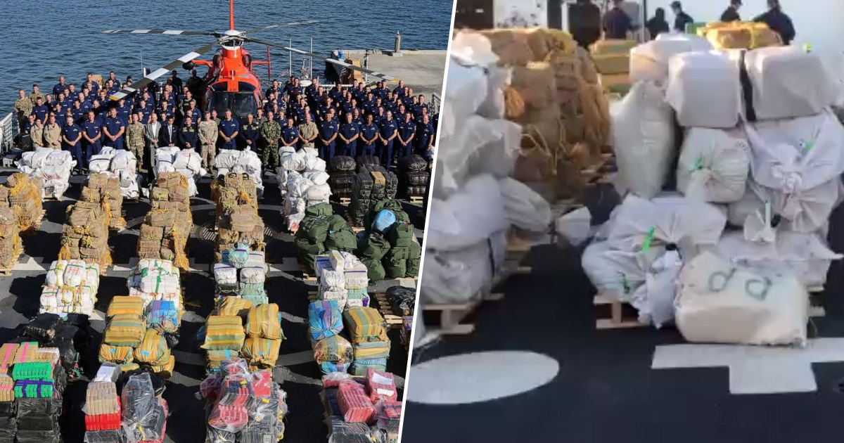 millions of dollars worth of drugs seized 1