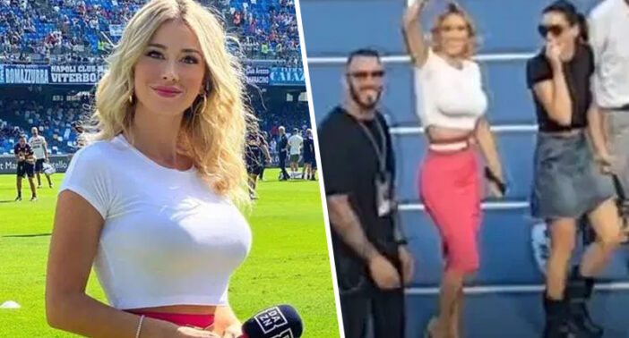Diletta Leotta Italy Napoli Football
