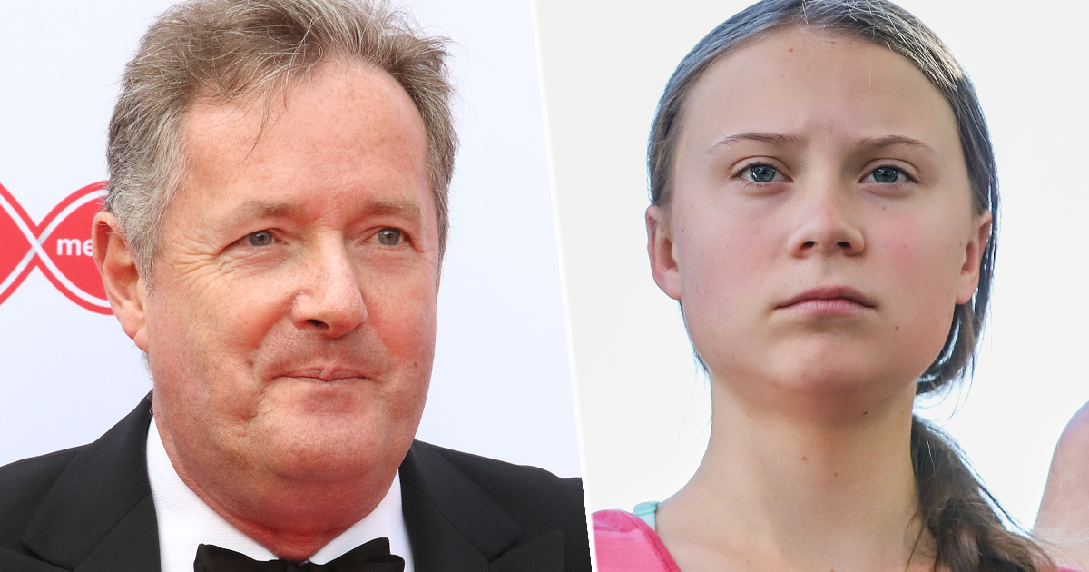 Piers Morgan responds to Greta Thunberg possible Nobel Prize