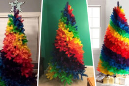 Rainbow Trees Are Now Available To Brighten Up Your Christmas