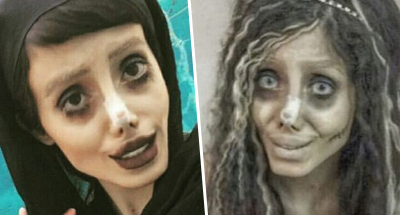 Angelina Jolie lookalike arrested