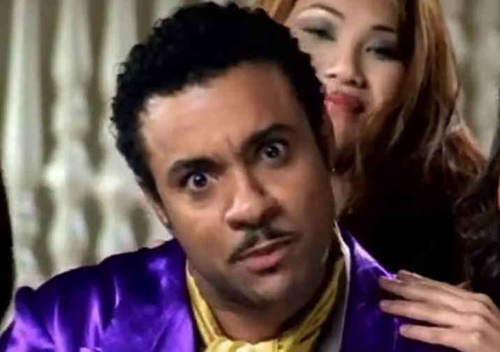 Shaggy in 'It wasn't me' video