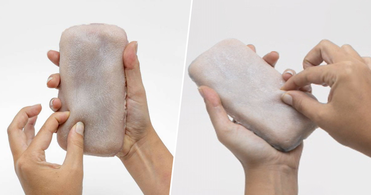 'Skin Phone Case' That Feels Like Real Human Flesh Responds To Your Touch