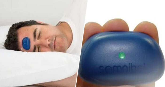 Battery Powered Forehead Snoring Buzzer Could Be The Secret To Stopping Your Partner's Snores