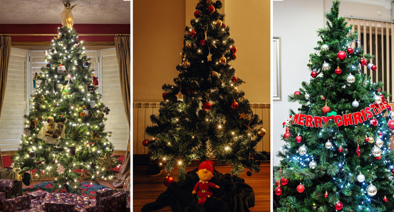 People are putting their Christmas trees up in October