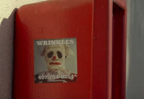 Parents can hire wrinkles the clown to scare children