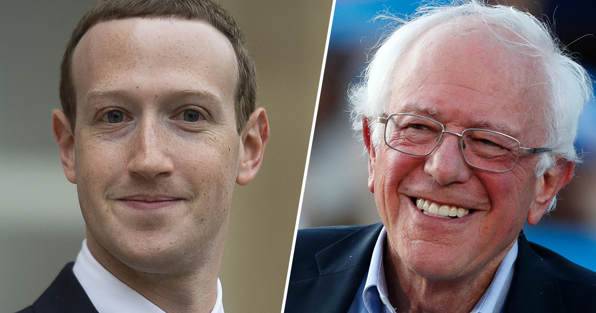 Billionaire Mark Zuckerberg Agrees With Bernie Sanders That Billionaires Shouldn't Exist