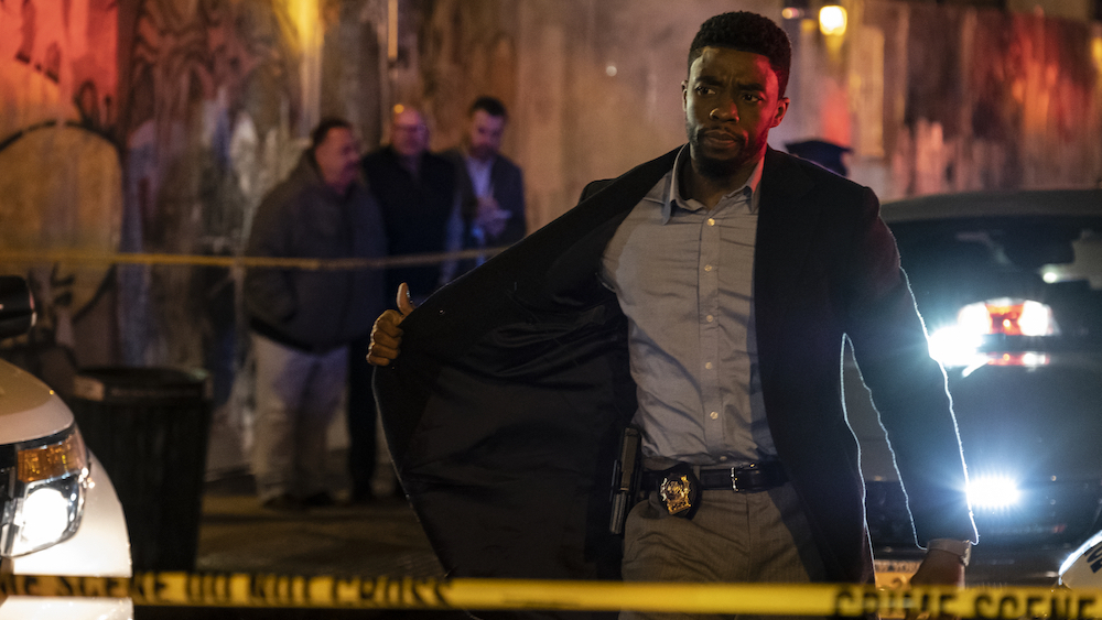 Chadwick Boseman stars in 21 Bridges
