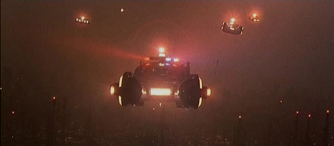 Blade Runner Flying Cars